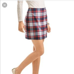 Girls Vineyard Vines Plaid Skirt